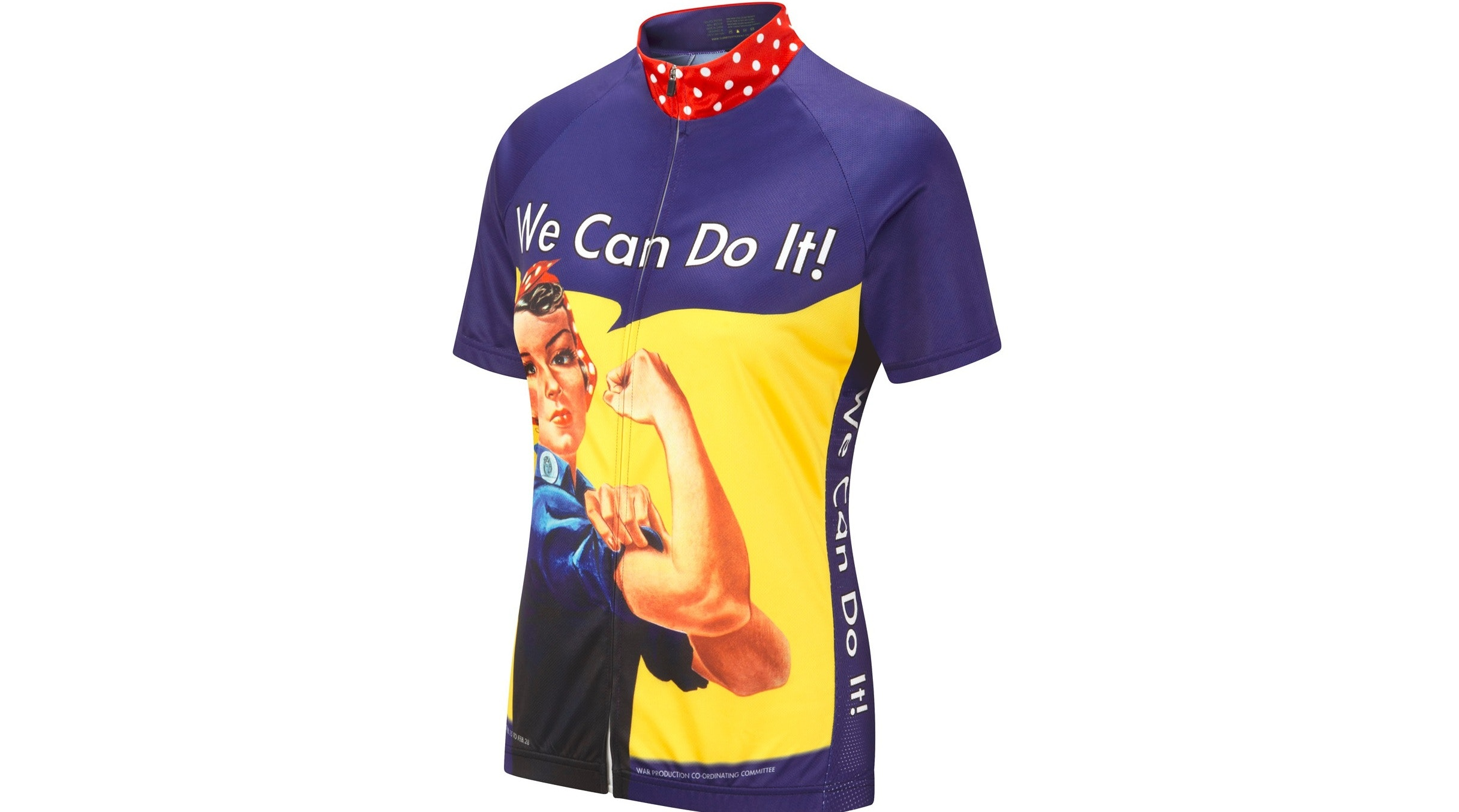 Rosie the Riveter Women's Short Sleeve Cycle Jersey