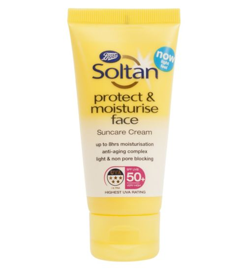 soltan protect and moisturise