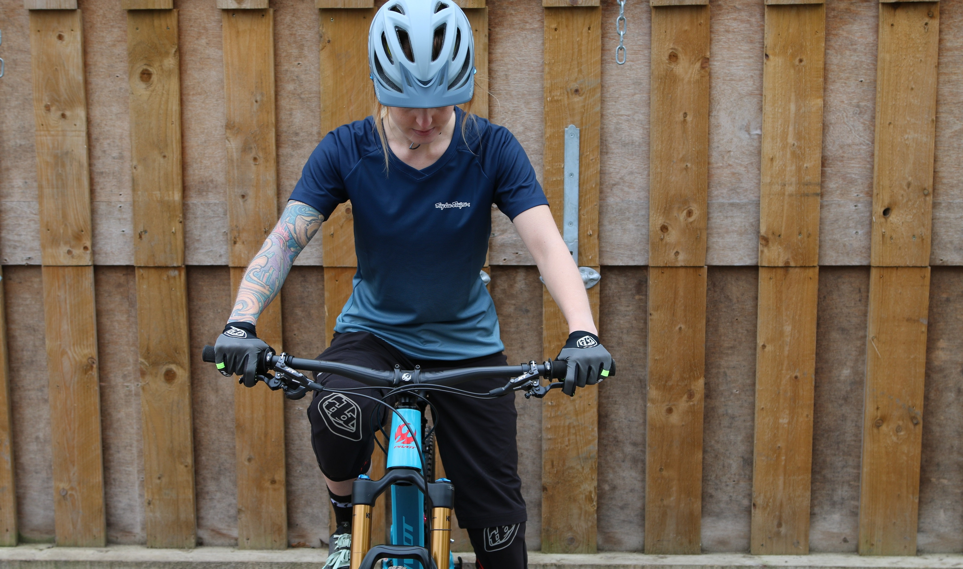 Troy Lee Designs TLD Mens Skyline Solid MTB Jersey Mountain Bike Cycle Off Road