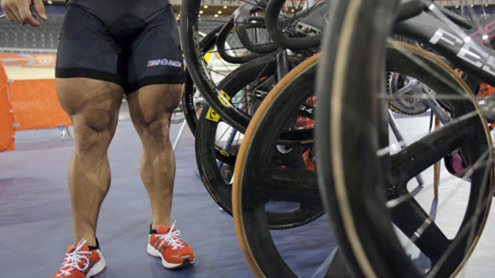 does cycling slim down legs
