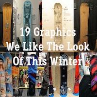 great snowboard graphics