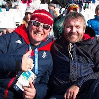 Sochi 2014 Paddy Mortimer, Colin Holden, BSS