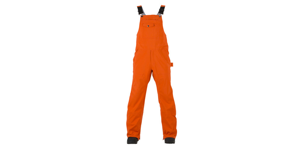 orange snowboard pants