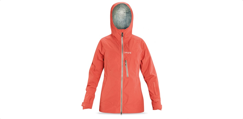 orange snowboard jacket