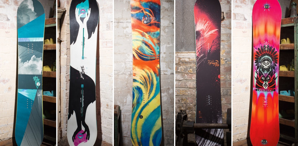 best womens snowboards