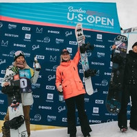 Burton US Open 2019 Podium Women Halfpipe