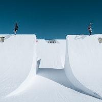 Audi Nines Markus Keller and Andre Hoeflich. Pic: Theo Acworth.